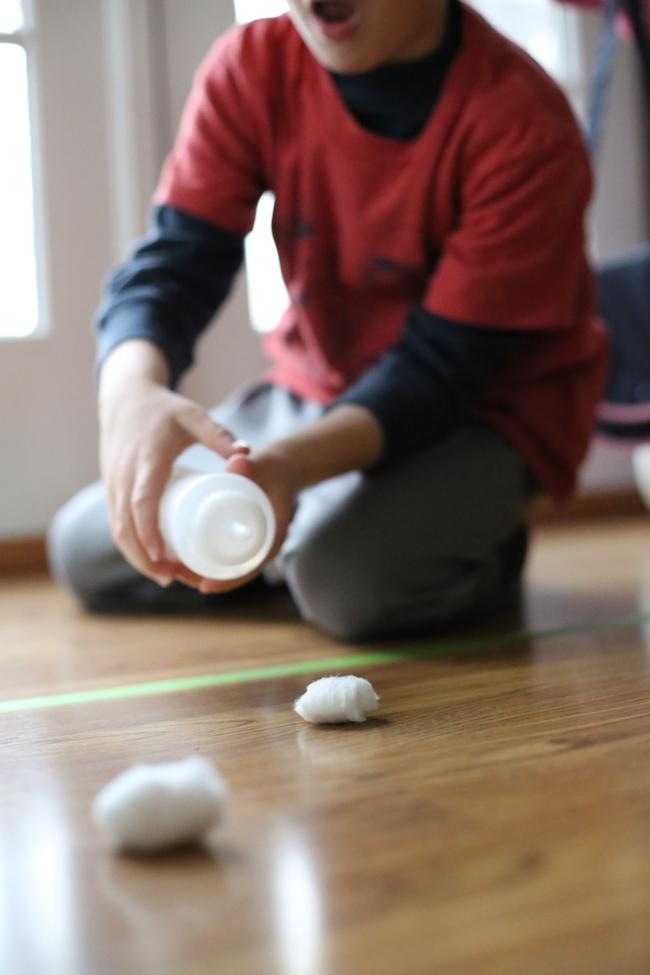cotton ball races