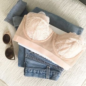 Lace Strapless