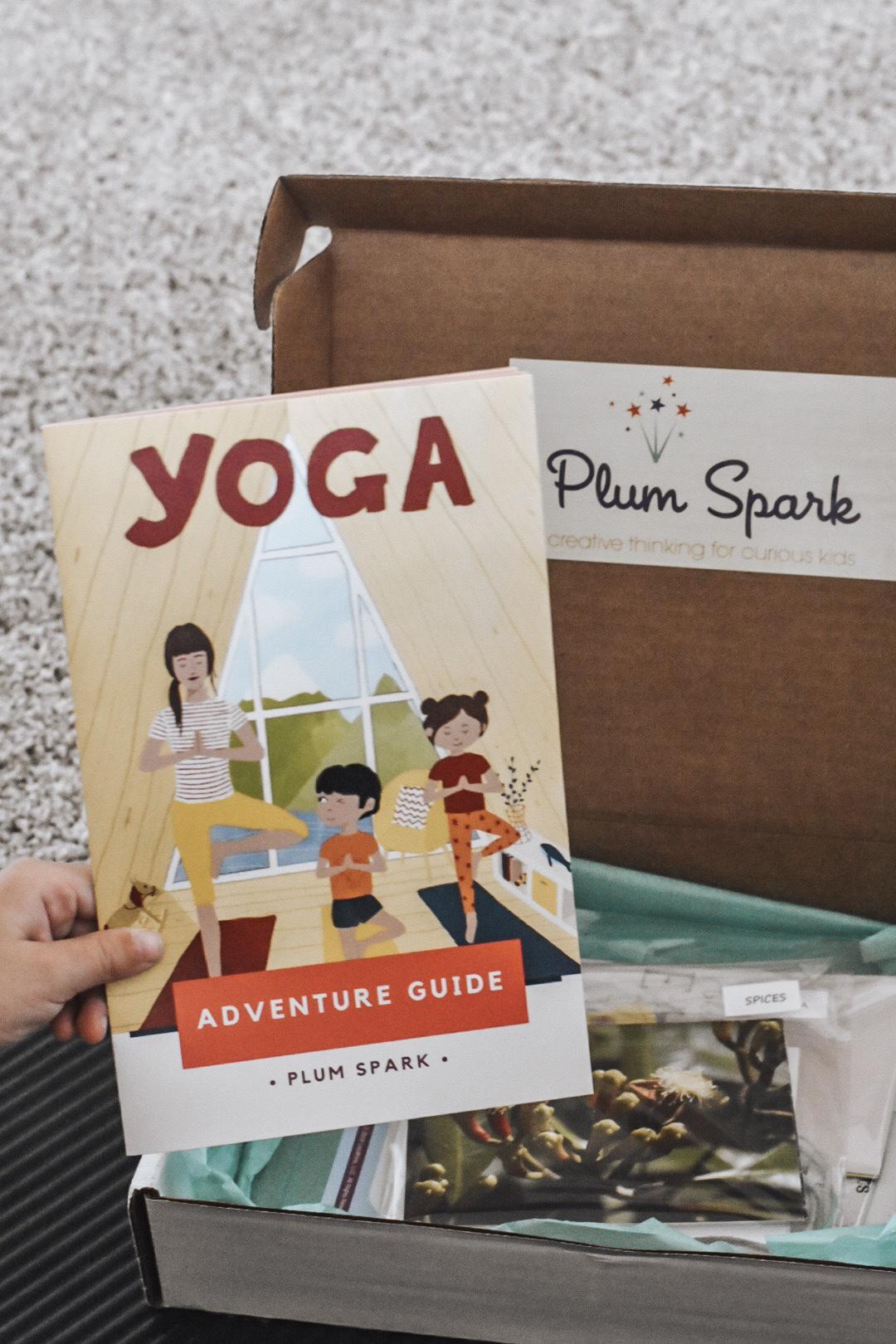 Plum Spark science-based yoga box