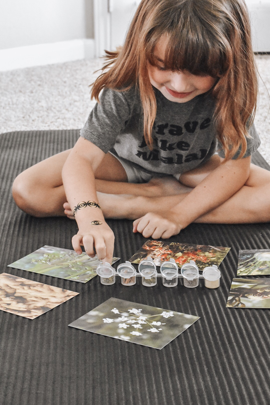 science subscription box for kids, identifying plants and spices